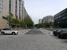 参观的科隆市在一个春日 免版税库存照片