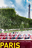 参观巴黎 免版税库存照片
