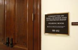 参议院小企业和企业精神委员会 免版税库存照片