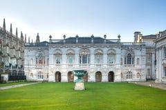 参议院房子(1722-1730) 主要使用为剑桥大学的程度仪式 免版税库存图片