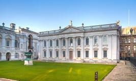 参议院房子(1722-1730) 主要使用为剑桥大学的程度仪式 库存图片