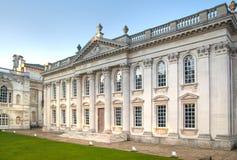 参议院房子(1722-1730) 主要使用为剑桥大学的程度仪式 库存照片