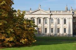 参议院议院,剑桥,英国 免版税库存图片