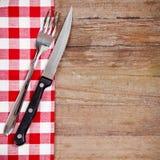 叉子和刀子 图库摄影