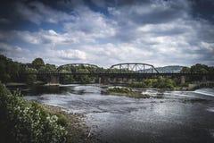 叉架桥 免版税库存图片