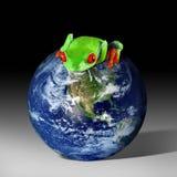 友好地球的eco 免版税图库摄影