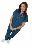 友好护士 库存图片