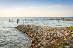 友好点Stradbroke海岛 免版税库存图片