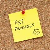 友好的宠物 免版税库存照片