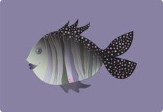 友好的鱼 免版税库存照片