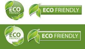 友好的eco 库存照片