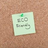 友好的Eco 免版税库存照片