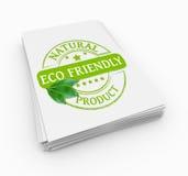 友好邮票的eco 免版税图库摄影