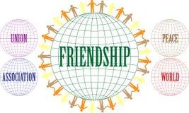 友谊 库存照片