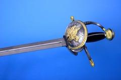 双刃剑 免版税图库摄影