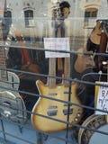 双吉他脖子 库存图片