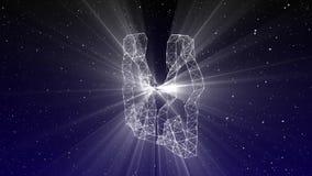 双子星座 向量例证