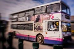 双层公共汽车 图库摄影