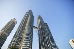 双峰塔马来西亚 免版税库存照片