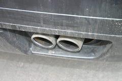 双排气管 库存图片