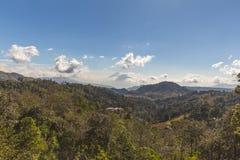 双火山在危地马拉 库存照片
