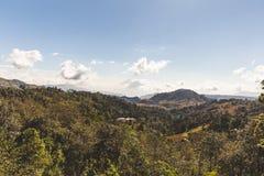 双火山在危地马拉 图库摄影