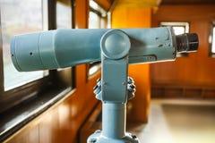 双眼在名古屋城堡的观测所大厅 免版税图库摄影