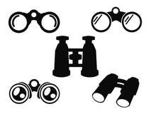 双眼象符号集 图库摄影