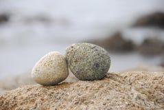 双石头 免版税库存照片