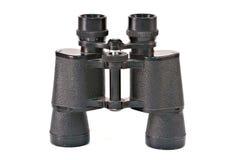 双筒望远镜查出白色 免版税库存图片