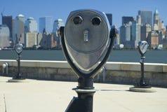 双筒望远镜泽西 库存照片