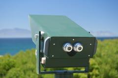 双筒望远镜海洋 免版税图库摄影