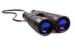 双筒望远镜绿色 库存照片