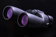 双筒望远镜详细资料 免版税库存照片