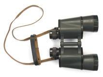 双筒望远镜黑色 库存照片