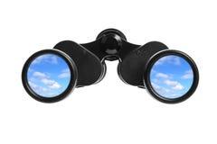 双筒望远镜 库存照片