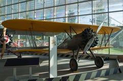 双翼飞机战斗机 库存照片