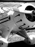 双翼飞机详细资料 库存照片