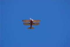 双翼飞机waco 库存图片