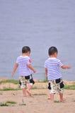 双胞胎 图库摄影