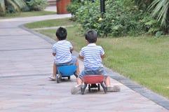 双胞胎 免版税图库摄影