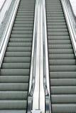 双自动扶梯 免版税库存照片