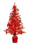 双重博览会:英国兰开斯特家族族徽圣诞树和背景  库存照片