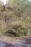 双重平实Devetakskoy洞在保加利亚 库存图片
