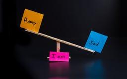 双重性的概念 免版税图库摄影