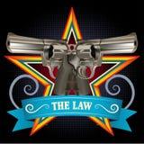 双重枪 免版税图库摄影