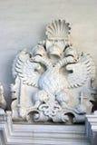 双重老鹰,俄罗斯的状态标志 免版税库存照片