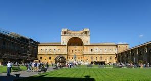双重螺旋意大利博物馆罗马楼梯梵蒂冈 图库摄影
