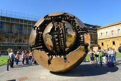 双重螺旋意大利博物馆罗马楼梯梵蒂冈 免版税库存图片