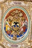 双重螺旋意大利博物馆罗马楼梯梵蒂冈 免版税库存照片